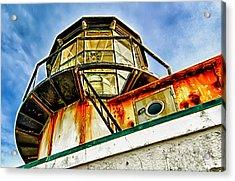 Point Bonita Lighthouse Acrylic Print by Robert Rus