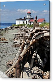 Acrylic Print featuring the photograph Point In View by Natalie Ortiz