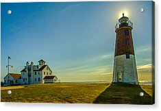 Point Judith Light Acrylic Print