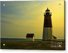 Point Judith Lighthouse Acrylic Print