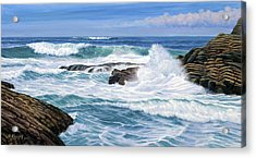 Point Lobos Acrylic Print by Paul Krapf