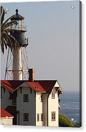 Point Loma California Lighthouse Acrylic Print by Mark Steven Burhart