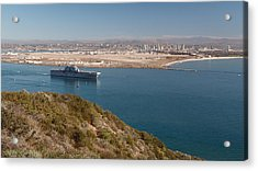 Acrylic Print featuring the photograph Point Loma Looking Toward San Diego by Scott Rackers