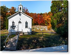 Point Mountain Community Church - Wv Acrylic Print