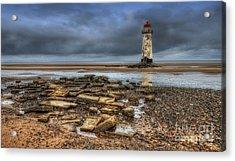 Point Of Ayr Lighthouse Acrylic Print