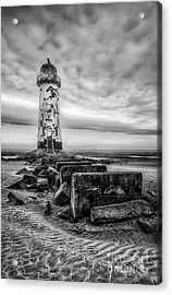Point Of Ayre Lighthouse Acrylic Print by Adrian Evans