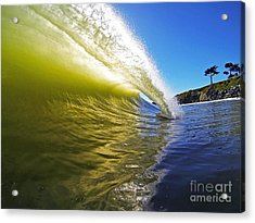 Point Of Contact Acrylic Print by Paul Topp