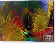 Point Of No Return-abstract Fractal Art Acrylic Print