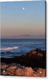 Acrylic Print featuring the photograph Point Pinos At Dusk by Scott Rackers