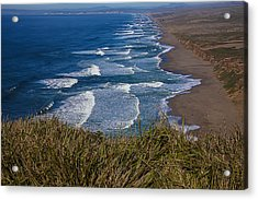 Point Reyes Beach Seashore Acrylic Print by Garry Gay
