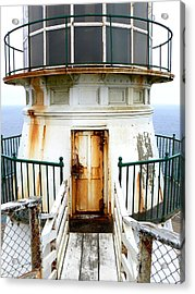 Point Reyes Historic Lighthouse Acrylic Print by Laurel Powell