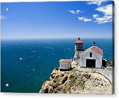 Point Reyes Lighthouse California Acrylic Print