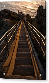 Point Reyes Lighthouse Staircase Acrylic Print