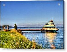 Point Ruston Ship Acrylic Print