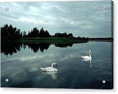 Point Serenity Acrylic Print