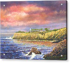 Point Vicente Lighthouse Acrylic Print by Douglas Castleman