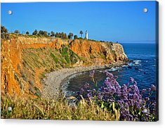 Point Vicente Lighthouse Acrylic Print