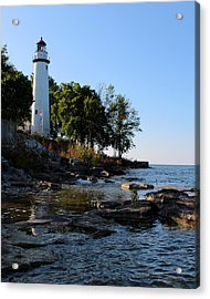 Pointe Aux Barques Lighthouse 1 Acrylic Print