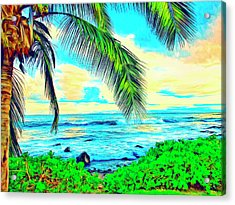 Poipu Sunrise Acrylic Print