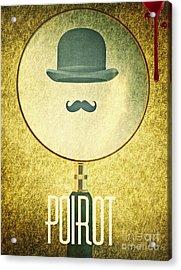 Poirot Acrylic Print