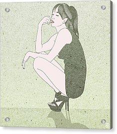 Poise Acrylic Print