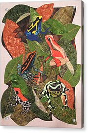 Poison Dart Frogs #2 Acrylic Print