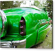 Acrylic Print featuring the photograph Poison Ivy Green Custom Car by Mick Flynn