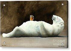 Polar Beer... Acrylic Print