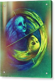 Polar Shift Number Three Acrylic Print