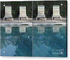Polarization In Photography Acrylic Print
