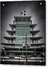 Pole Day At The Indy 500 Acrylic Print