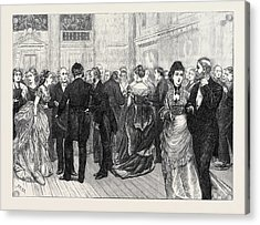 Police Orphanage Ball At The City Terminus Hotel Cannon Acrylic Print