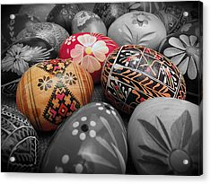 Polish Eggs Acrylic Print