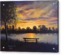 Polish Sunset Acrylic Print