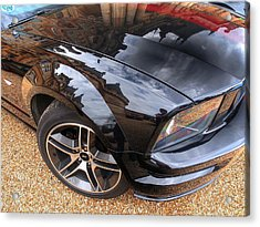Polished To Perfection - Mustang Gt Acrylic Print by Gill Billington
