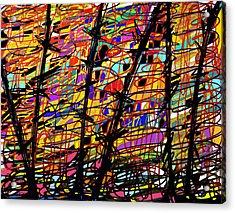 Pollock Updated Acrylic Print