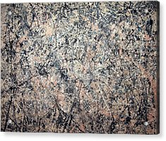 Pollock's Number 1 -- 1950 -- Lavender Mist Acrylic Print