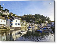 Polperro Cornwall England Acrylic Print by Colin and Linda McKie