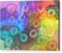 Polychromatic Rbc's Acrylic Print