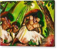 Polynesian Chant Acrylic Print
