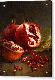 Pomegranates 2014 Acrylic Print