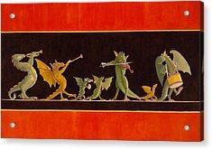 Pompeiian Minstrels Acrylic Print