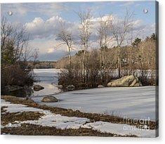 Ponaganset In Winter Acrylic Print