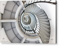 Ponce De Leon Inlet Lighthouse Staircase Acrylic Print
