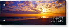 Acrylic Print featuring the photograph Ponce Inlet Fl Sunrise  by Tom Jelen