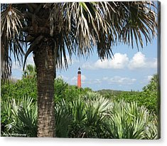 Ponce Inlet Lighthouse Florida 2 Acrylic Print by Brian Johnson