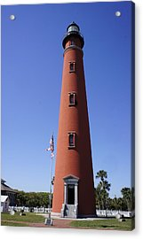 Acrylic Print featuring the photograph Ponce Inlet Lighthouse by Laurie Perry