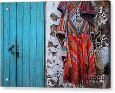 Ponchos For Sale Acrylic Print by James Brunker