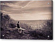 Pondering Acrylic Print by Jonathon Shipman
