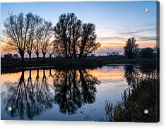 Ponds In Lomna 2 Acrylic Print